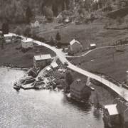 Ny fabrikk på Steinen på tre etasjar, kvar på 108 kvm. inkl. tilslagssiloar stod ferdig i 1952